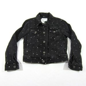 Current Elliott The Studded Baby Trucker Jacket 1